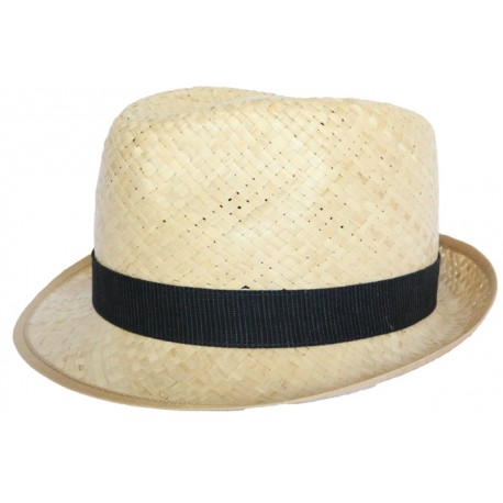 Chapeau paille Georges en raphia naturel CHAPEAUX Olney Headwear Limited