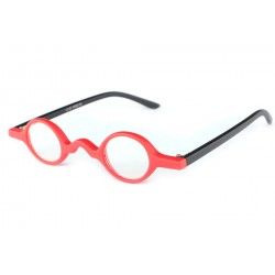 Lunettes Loupes Malaga Rouge et Noire Dioptrie +3 Lunettes Loupes New Time