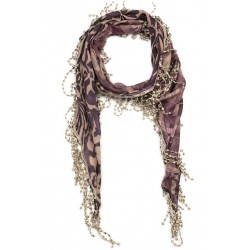 Foulard Violet Triangle Feil Nyls Creation