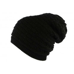 Bonnet Rasta Noir Long Ben Nyls Creation BONNETS Nyls Création