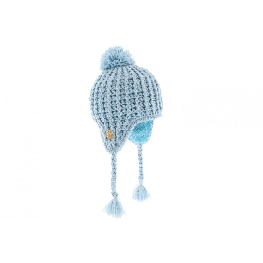 achat bonnet p ruvien b b bleu bonnet laine b b livraison 48h. Black Bedroom Furniture Sets. Home Design Ideas