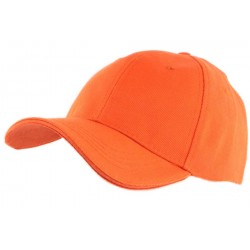 Casquette Baseball Orange