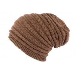 Bonnet Rasta Oversize Marron Clair Jack Nyls Creation BONNETS Nyls Création
