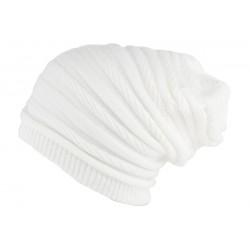 Bonnet Rasta Long Blanc Jack Nyls Création BONNETS Nyls Création