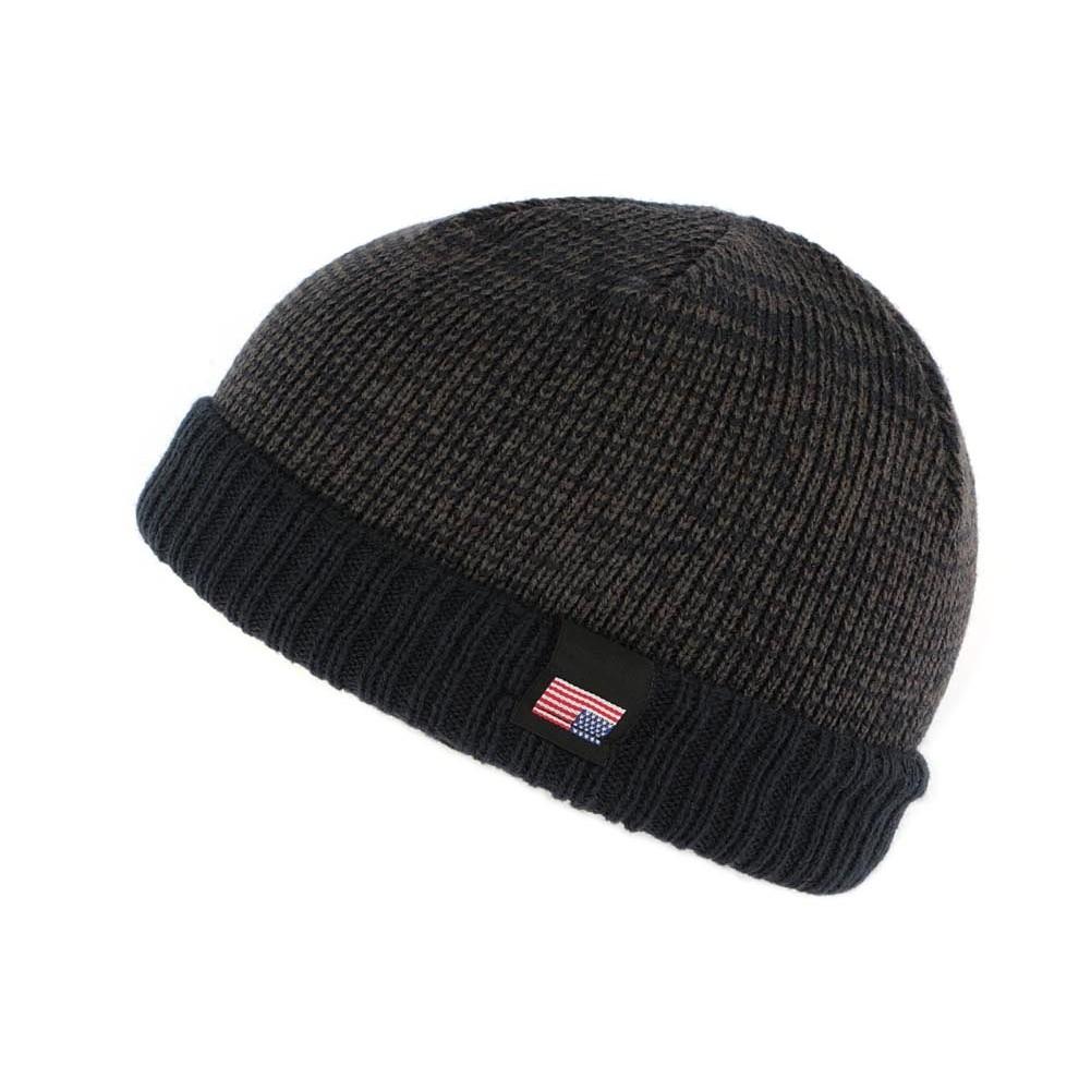 achat bonnet court usa bleu et marron boutique hatshowroom. Black Bedroom Furniture Sets. Home Design Ideas
