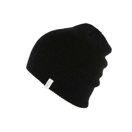 Bonnet Long Coal Headwear The Frena Noir BONNETS COAL