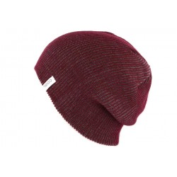 Bonnet Long Coal Headwear The Binary Bordeaux