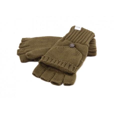 Gants Mitaine et Moufle Coal en laine Olive Gants COAL