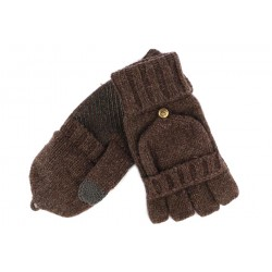 Gants et Moufle Coal en laine Marron The Mcneil Gants COAL