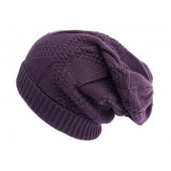 Bonnet Rasta Violet Hopkins Nyls Création