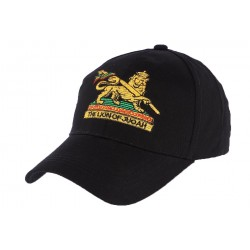 Casquette Baseball Noire The Lion of Judah ANCIENNES COLLECTIONS divers