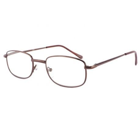 vente lunette loupe rectangle m tal marron vita boutique. Black Bedroom Furniture Sets. Home Design Ideas