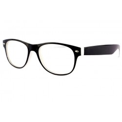 Lunette Loupe Tendance Black & White Shape +1,5 Dioptries