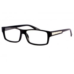 Lunette Loupe Rectangle Homme Noir Must + 3