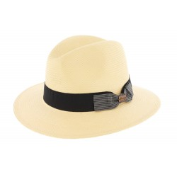 Chapeau paille Toyo Duke Naturel Herman