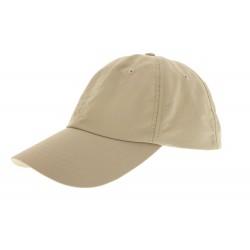 Casquette microfibre unie Beige Herman Headwear