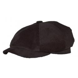 Casquette Cascata velours côtelé noir ANCIENNES COLLECTIONS divers