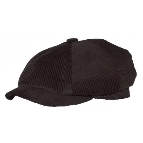 Lenmontane casquette Cascata velour noir