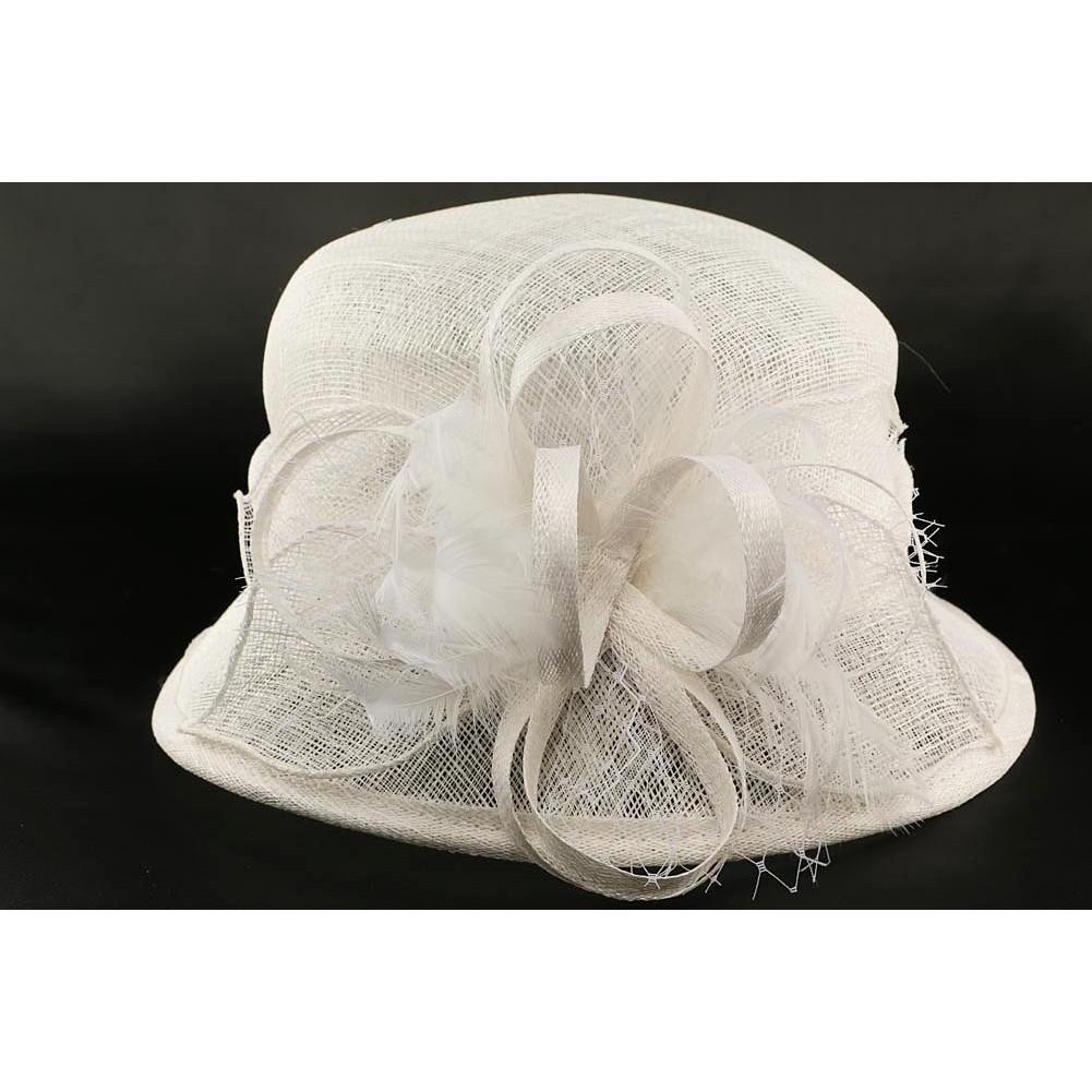 chapeau mariee blanc achat mariage. Black Bedroom Furniture Sets. Home Design Ideas