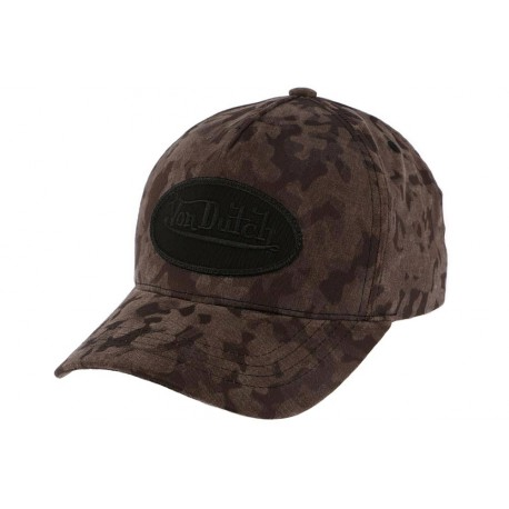 Casquette Baseball Noire Camouflage Army Von Dutch ANCIENNES COLLECTIONS divers