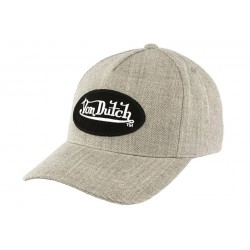 Casquette baseball Grise Bill par Von Dutch
