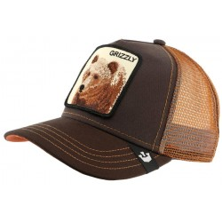 Casquette Baseball Marron Grizz par Goorin Bros ANCIENNES COLLECTIONS divers
