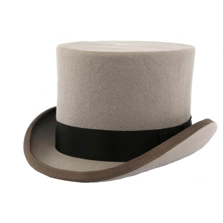 Chapeau Haut de Forme Gris Christys' London