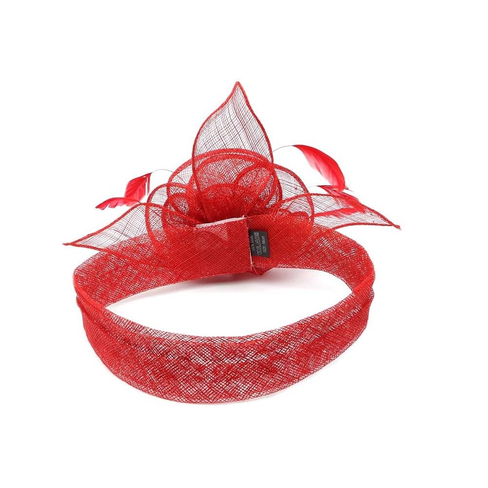 chapeau mariage rouge figue achat chapeau mariage. Black Bedroom Furniture Sets. Home Design Ideas