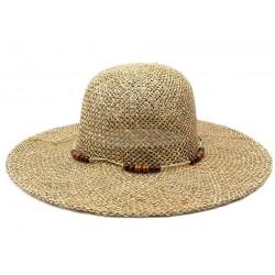 Chapeau de paille femme Elya