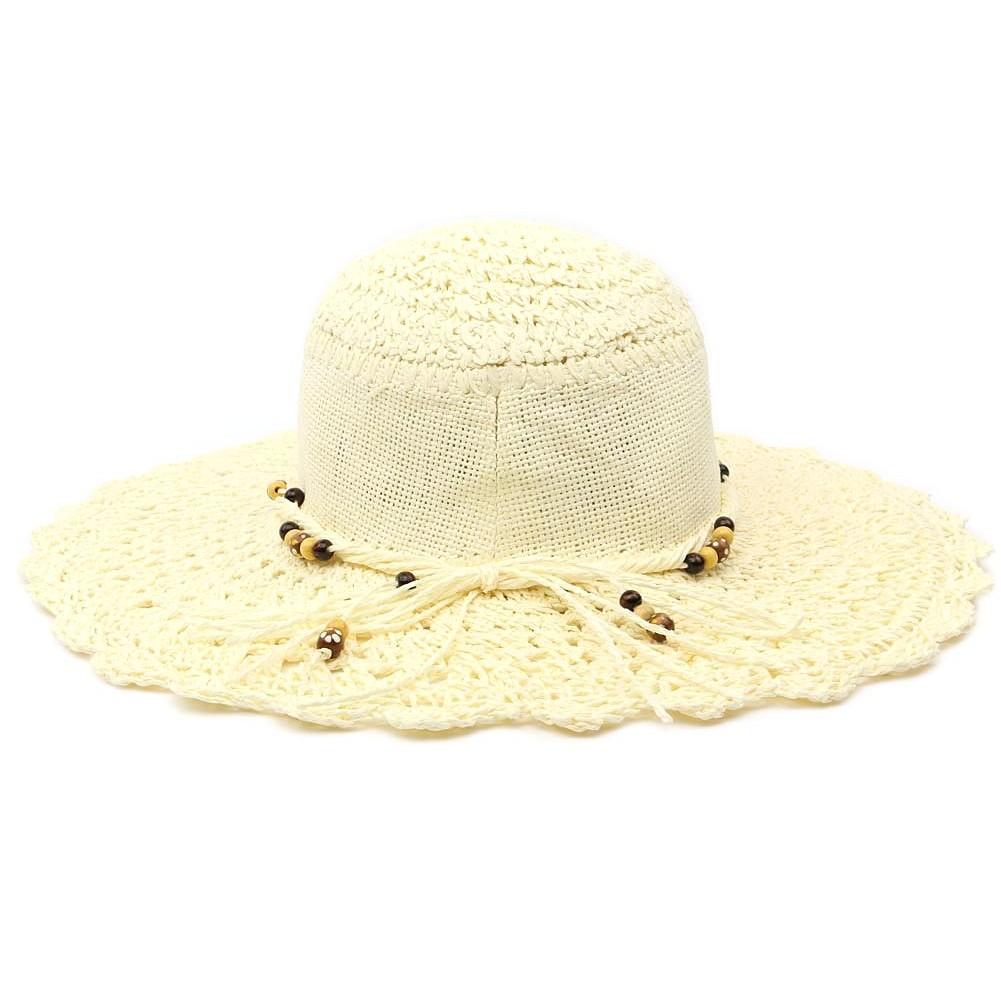 capeline t femme lalyan chapeau de paille cru livraison 48h. Black Bedroom Furniture Sets. Home Design Ideas