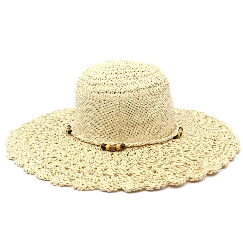 chapeau de paille femme lalya capeline t beige livraison en 48h. Black Bedroom Furniture Sets. Home Design Ideas