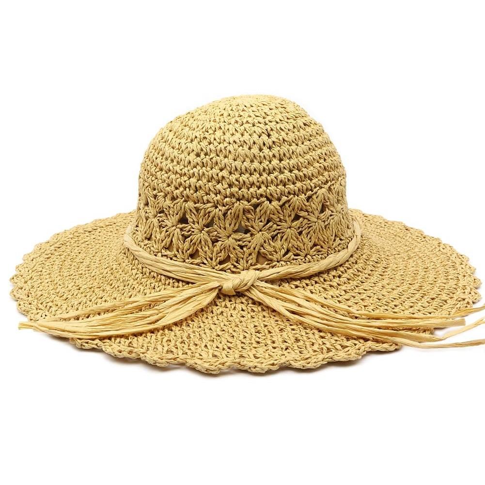 capeline t femme mily chapeau de paille beige sur. Black Bedroom Furniture Sets. Home Design Ideas