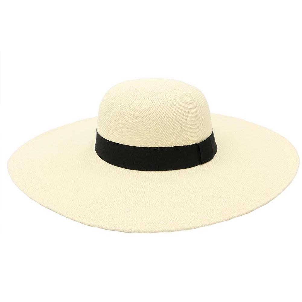 capeline t beige clotilde chapeau de paille femme look sobre chic. Black Bedroom Furniture Sets. Home Design Ideas
