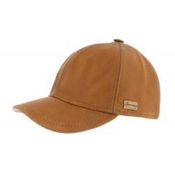 Casquette Baseball Cognac Conquest King Herman Headwear
