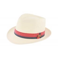 Chapeau paille Beige Benson Herman Headwear