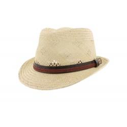 Chapeau paille Beige Taibu Herman Headwear