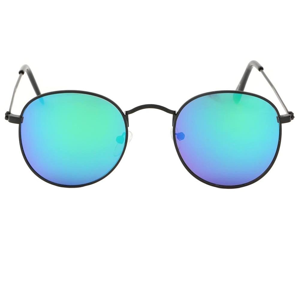lunettes de solei bleu miroir rondes asti hatshowroom livr 48h. Black Bedroom Furniture Sets. Home Design Ideas