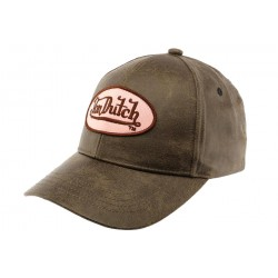 Casquette Baseball Rose Vicky Von Dutch CASQUETTES VON DUTCH