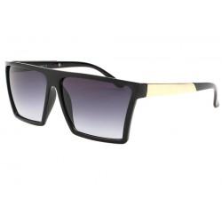 Lunettes de soleil Mode Noires et Dorées Zyk LUNETTES SOLEIL Eye Wear