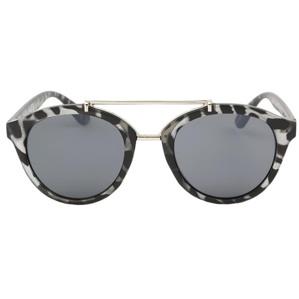 lunettes de soleil r tro grise laurel solaire pas cher hatshowroom. Black Bedroom Furniture Sets. Home Design Ideas