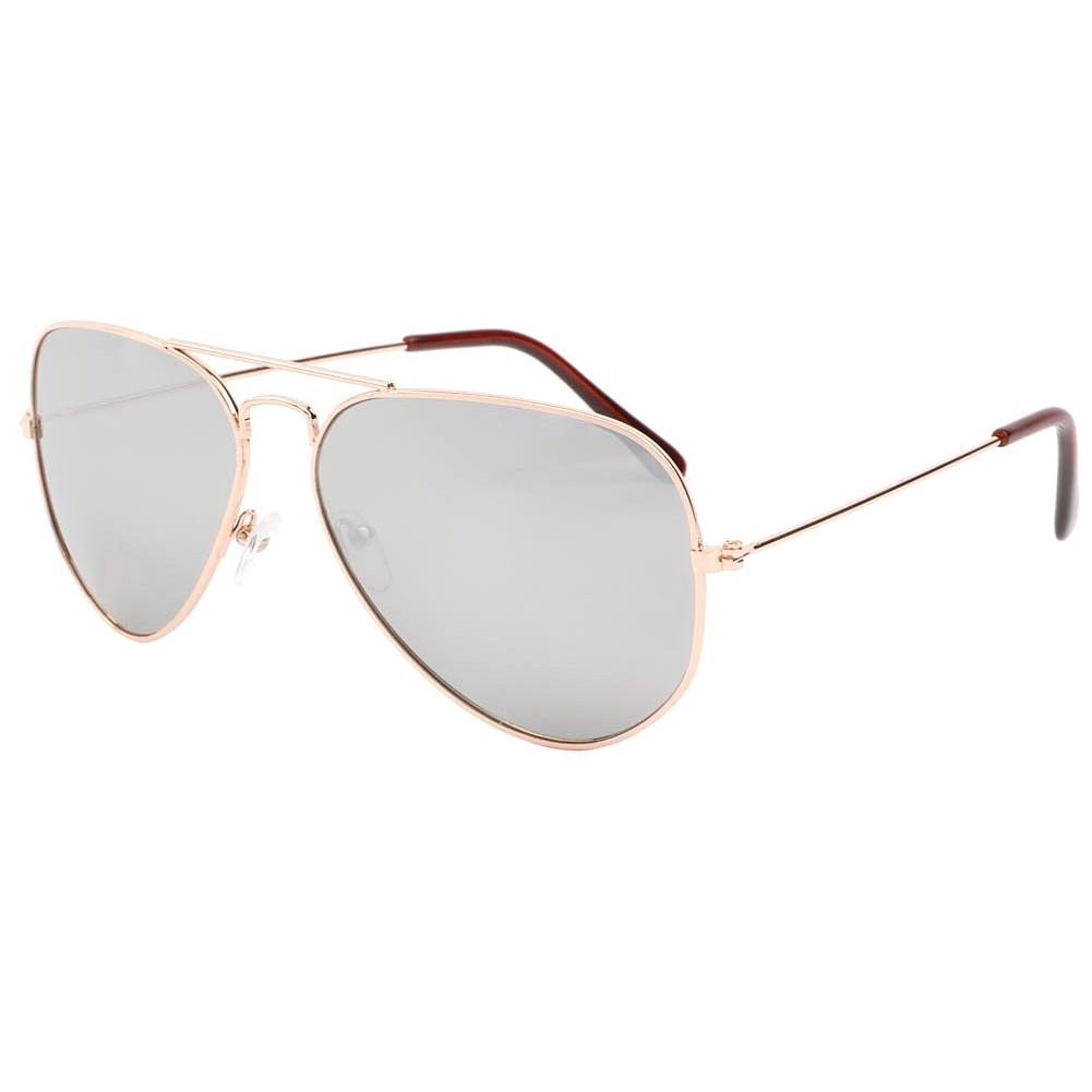 lunettes de soleil aviateur dor verre miroir never livr 48h. Black Bedroom Furniture Sets. Home Design Ideas