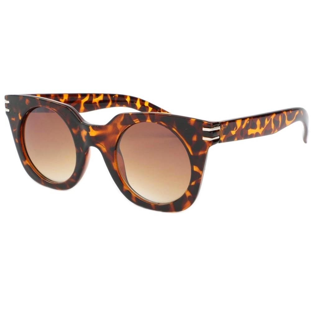 lunette de soleil femme ronde ecaille marron meslay  solaire livr u00e9 48h
