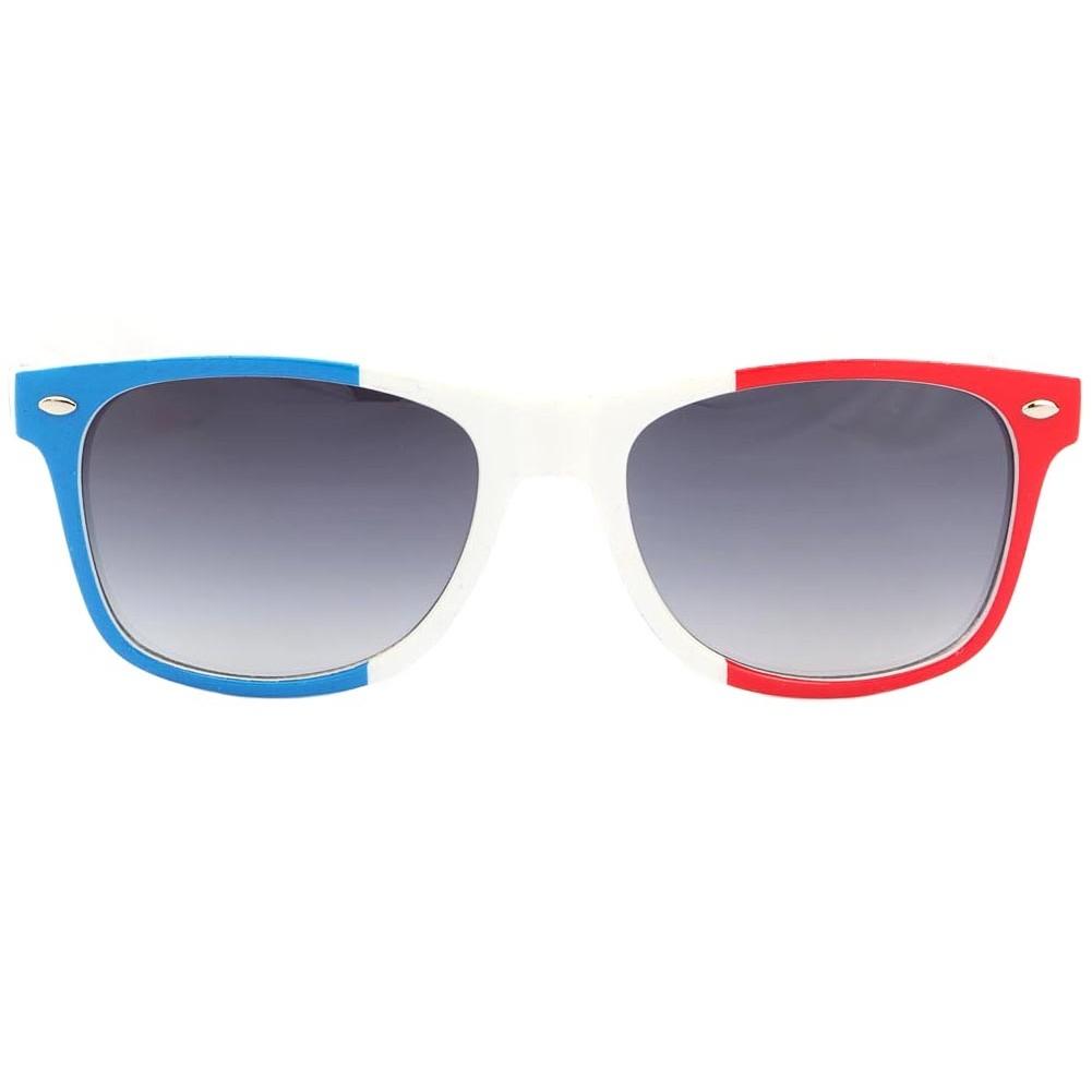 lunettes de soleil france bleu blanc rouge solaires supporter en 48h. Black Bedroom Furniture Sets. Home Design Ideas