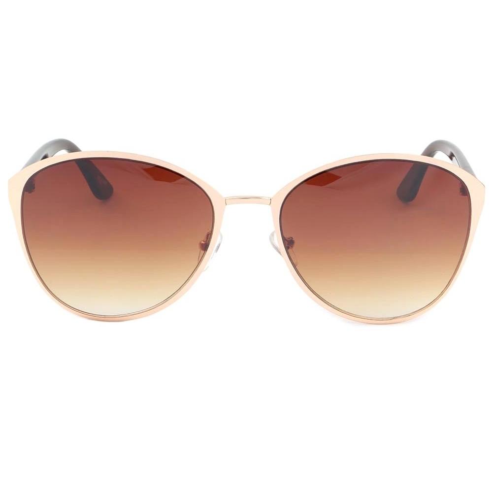 vente lunettes soleil femme dor et marron zoe solaire. Black Bedroom Furniture Sets. Home Design Ideas
