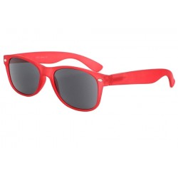 Lunettes Loupe Solaire Monture Rouge Tchao