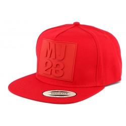 Snapback MJ 23 Rouge CASQUETTES Hip Hop Honour
