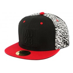 Snapback MJ 23 Rouge et Noire