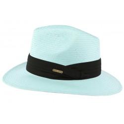 Chapeau de Paille Bleu Ciel Théo