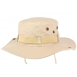 Bob chapeau Safari Sable Marron Clair