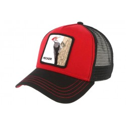 Casquette Baseball Rouge Woody WOOD Goorin Bros